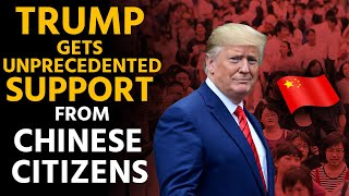 Chinese citizens are now supporting Trump on Free Speech