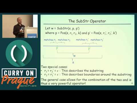 Sumit Gulwani - Data Manipulation using Programming By Examples and Natural Language - Curry On