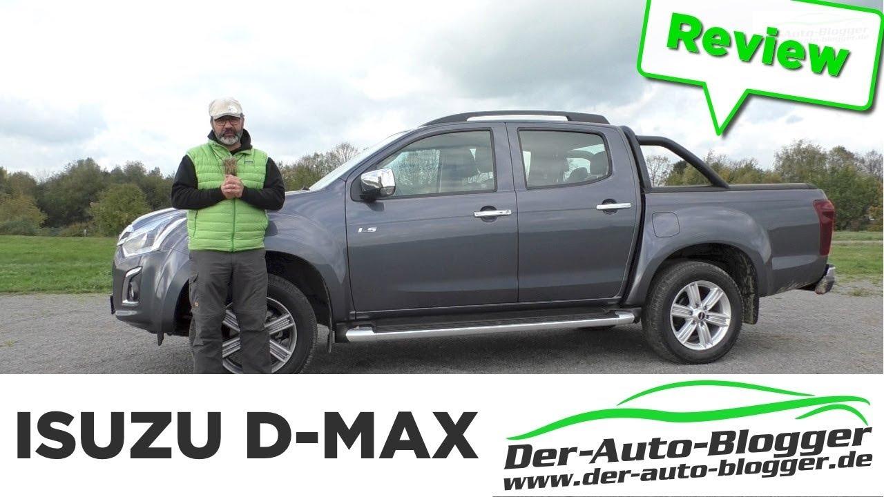 isuzu d-max 1.9 d / euro6 - das arbeitstier - test, review und