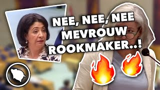 Dorien Rookmaker  Fvd/groep Otten/partij Voor De Toekomst  Krijgt Tik Op Vingers Van Khadija Arib