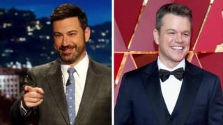 Jimmy Kimmel bumps Matt Damon again in new United parody ad