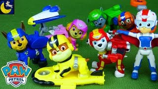 Paw Patrol Air Rescue Pups Toys Air Patroller Apollo the Super Pup Chase Marshall Ryder Zuma Rubble