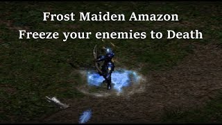 Diablo 2: Frost Maiden Bow Amazon - Freezing cool!