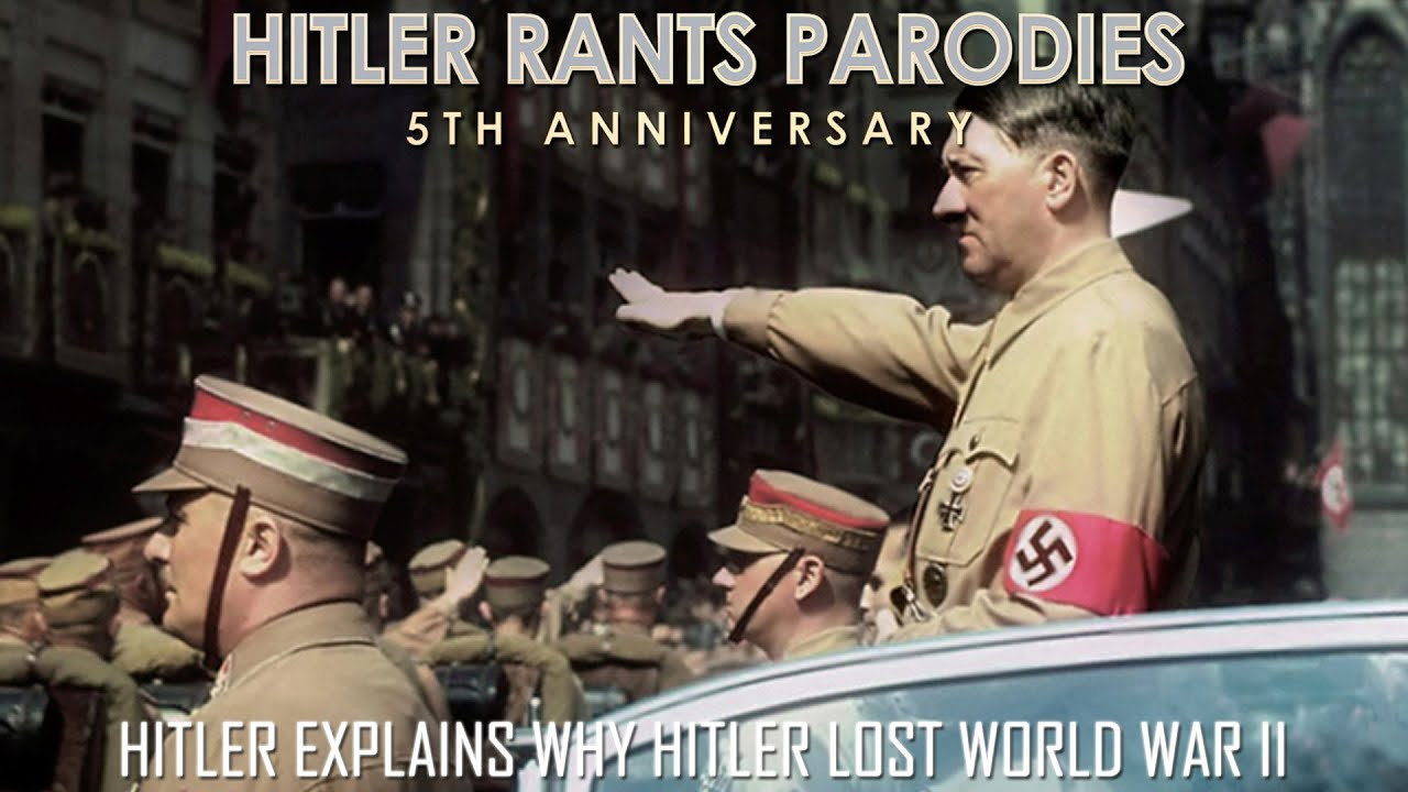 Hitler explains why Hitler lost World War II