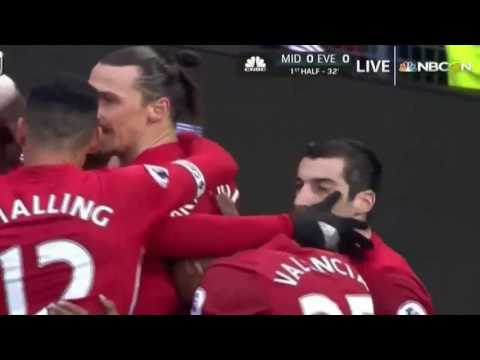 manchester united vs watford 2017 highlights