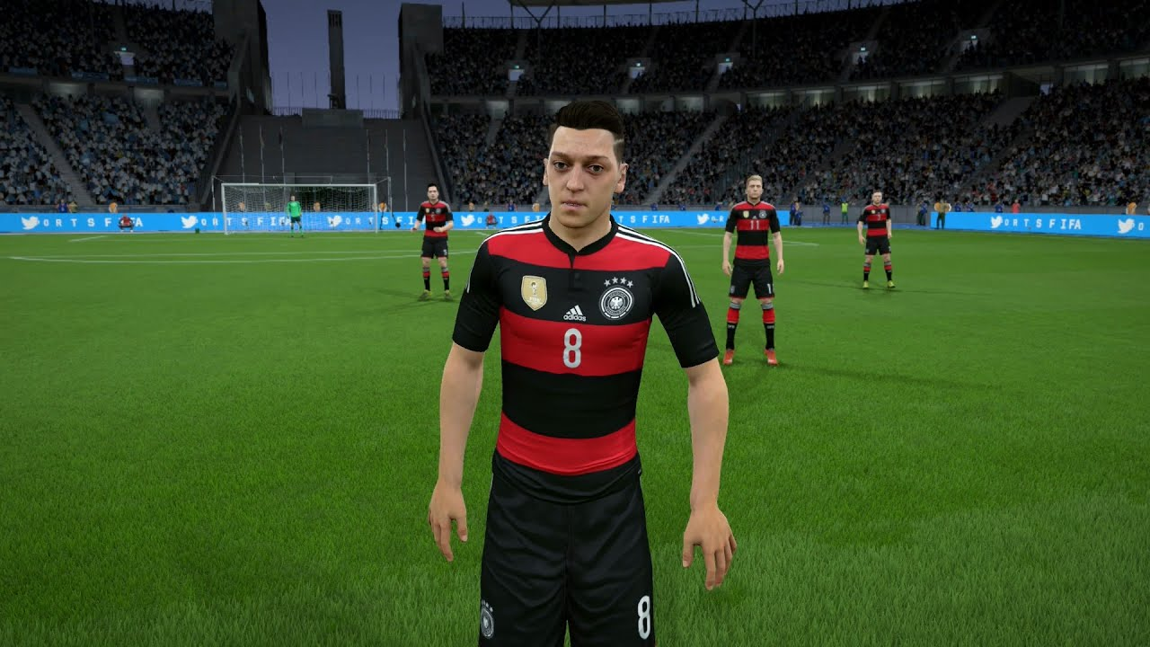 fifa 16 germany player faces youtube. Black Bedroom Furniture Sets. Home Design Ideas