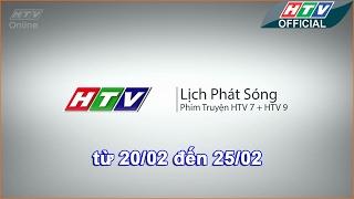 Lịch phát sóng phim HTV - 20-2-2017 - 25-2-2017 -HTV LPS