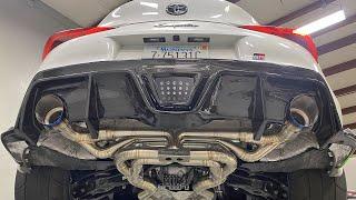 A90 Supra INSANE Titanium Exhaust + New Turbo!