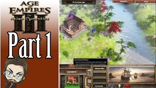 Let's Play Age of Empires III Asian Dynasties - Part 1: The Siege of Osaka - Walkthrough Gameplay