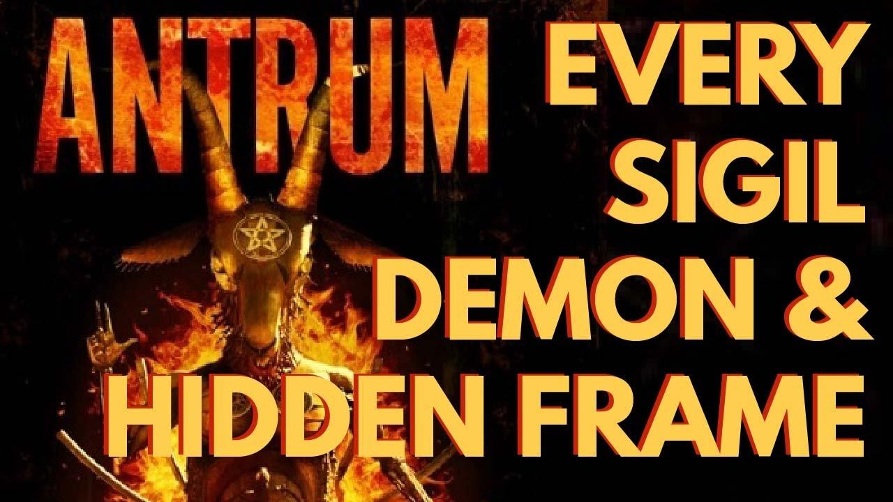 Download Antrum: Every Sigil, Demon, Hidden Frame, and More