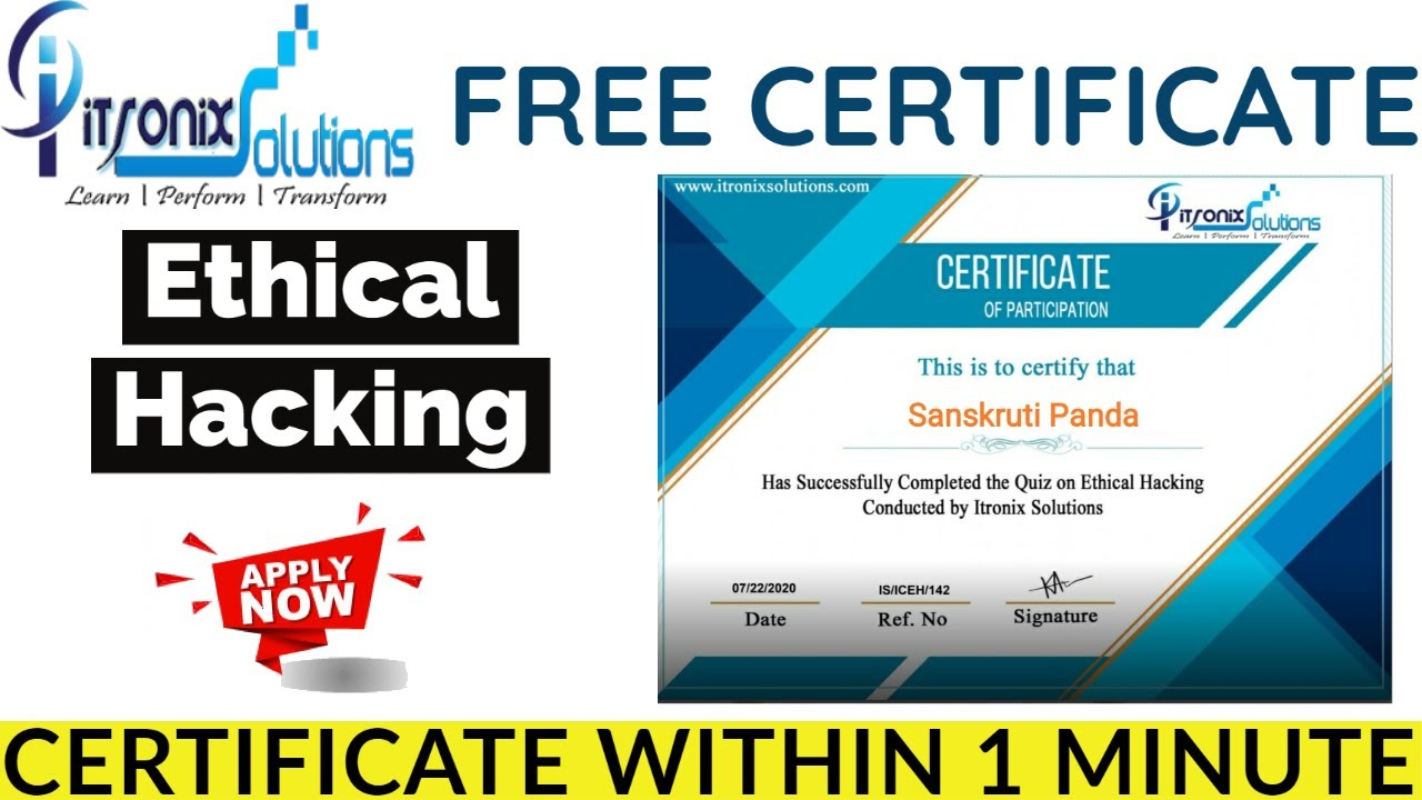 certificate hacking ethical