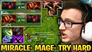 Miracle Shadow Fiend Crazy Try Hard with MagE- Ember Spirit