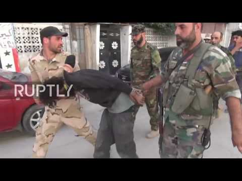 Syria: First images show liberated Yarmouk after IS defeat by Syrian Army
