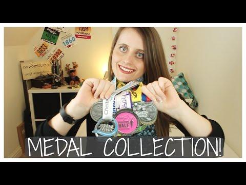 MEDAL COLLECTION! | MarathonHarry