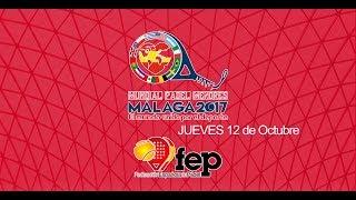 Programa Resumen Jueves Mundial Pádel Menores Malaga 2017. Especial Selección Española