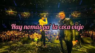 Grupo Firme ft Grupo Fernández me sobra amor (LETRA)