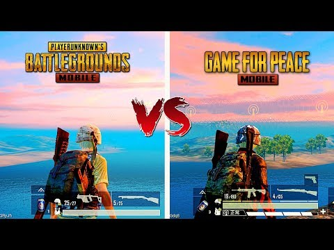 🔥 Pubg Mobile VS Game For Peace 🔥 Comparison - Which Is Best For Mobile?