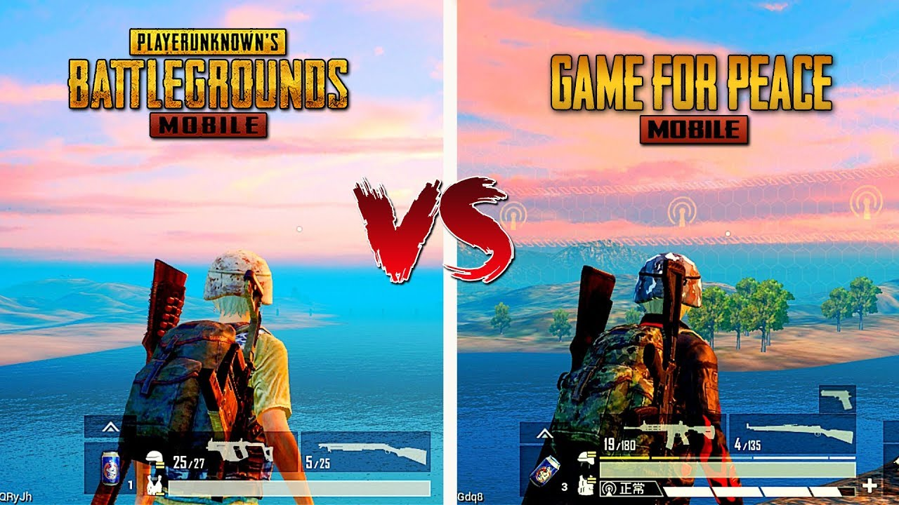 ???? Pubg Mobile VS Game For Peace ???? Comparison - Which is best for mobile?