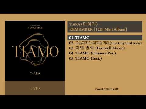 [FULL ALBUM+DL] T-ara (티아라) - REMEMBER (12th Mini Album)