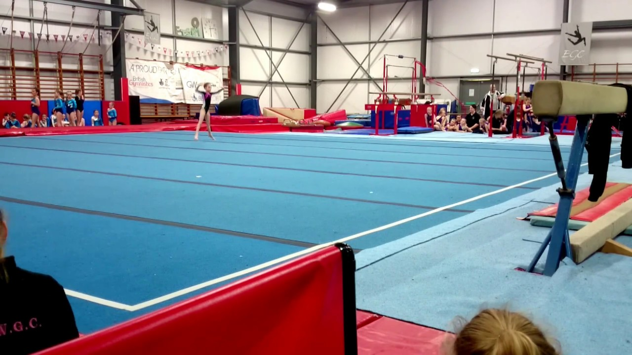 General Gymnastics Level 2 Competition Floor Routine Uk