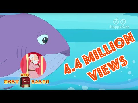 Jonah And The Whale | Stories Of God I Animated Bible Stories | Holy Tales Bible Stories