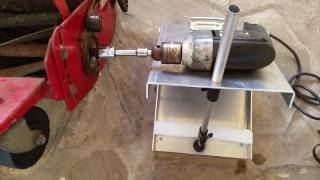 Custom-made Reel Mower Backlapping Kit