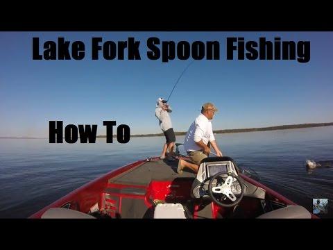 Lake Fork Fall Spoon Fishing: How To