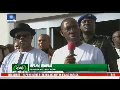 News Across Nigeria: Delta, Anambra States To Manage Traffic & Security On Niger Bridge