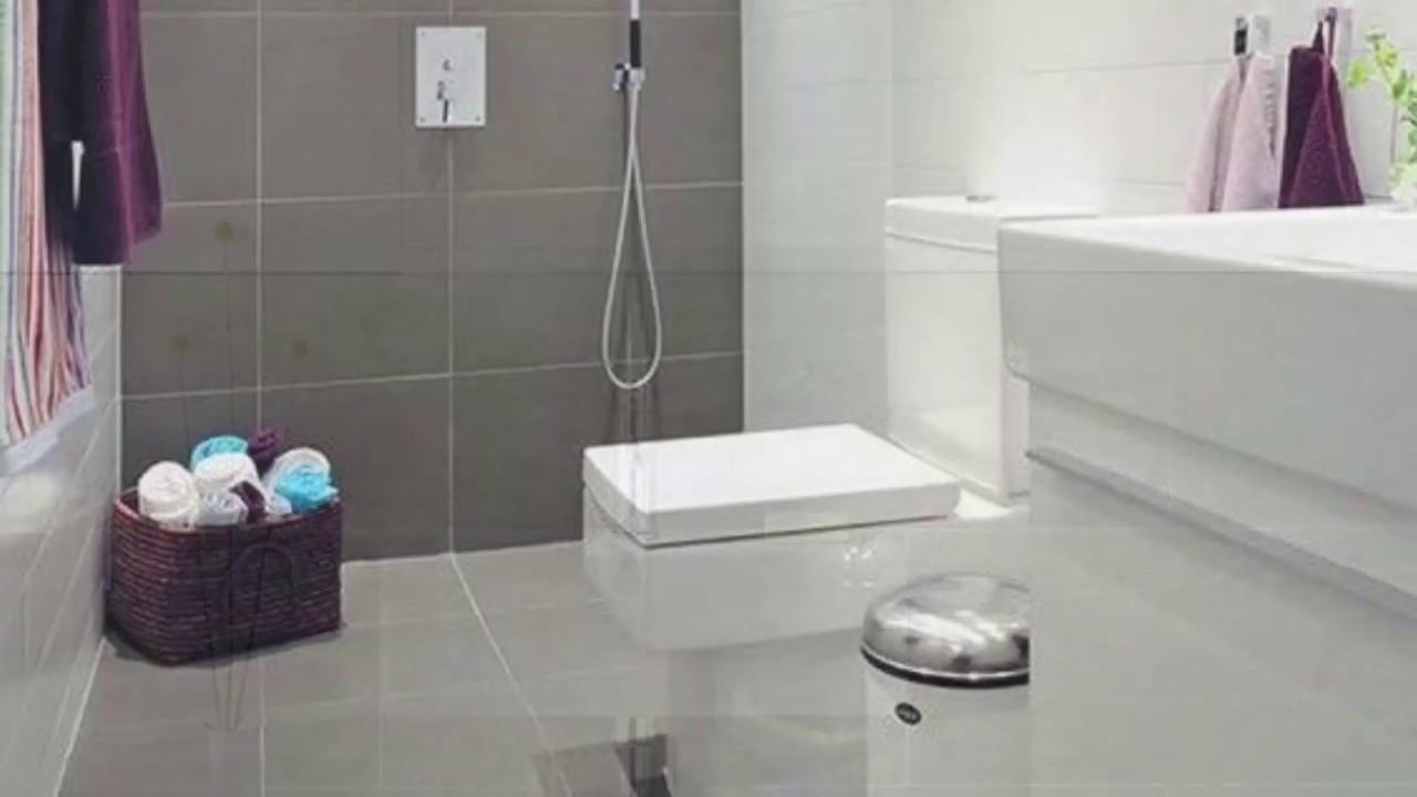 Beautiful Bathroom Floor And Wall Tiles Design Modern And Stylish