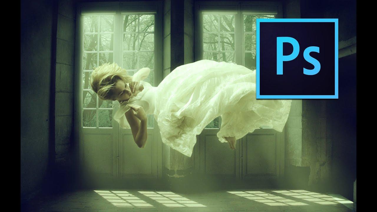 levitation effect manipulation - photoshop tutorial