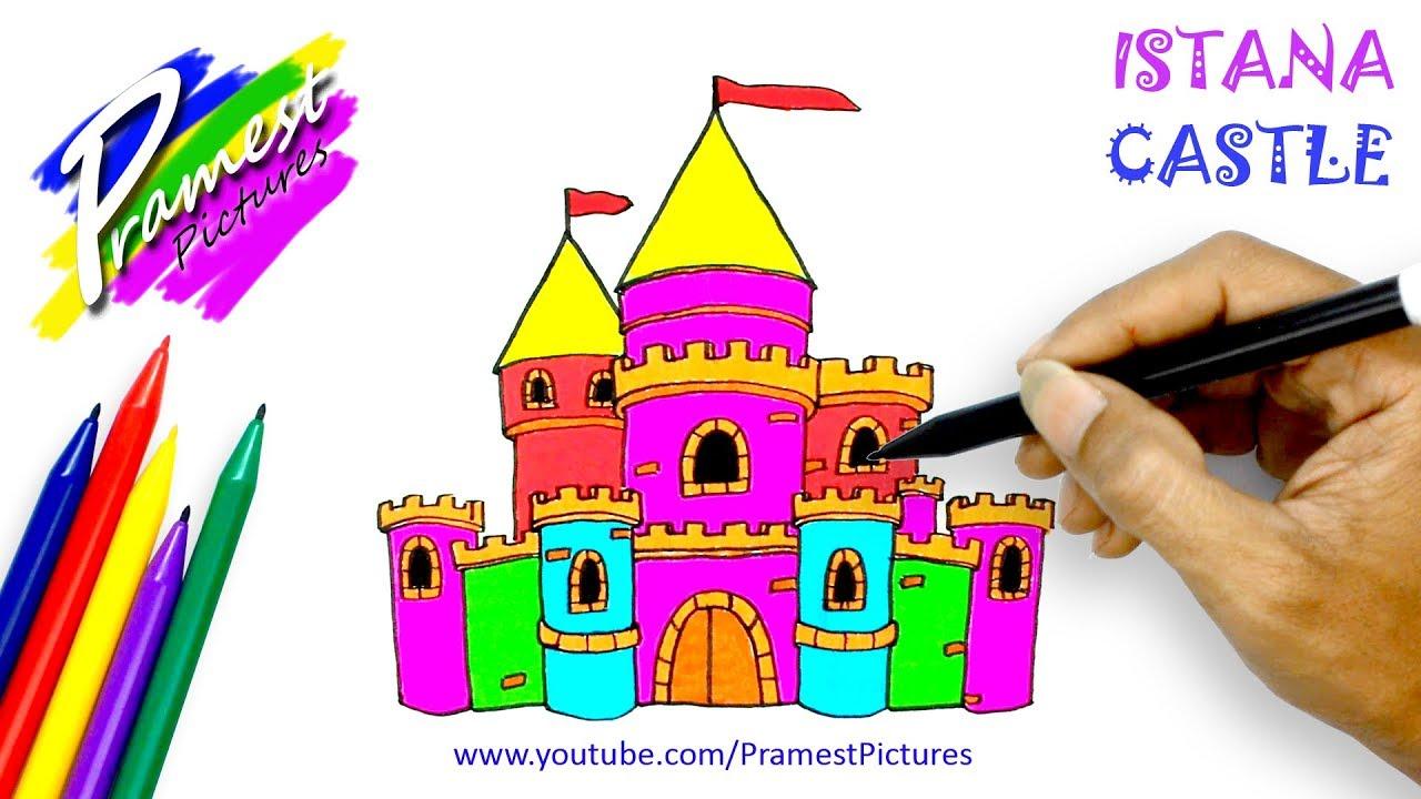 Istana Belajar Menggambar Dan Mewarnai Gambar Untuk Anak Anak Youtube