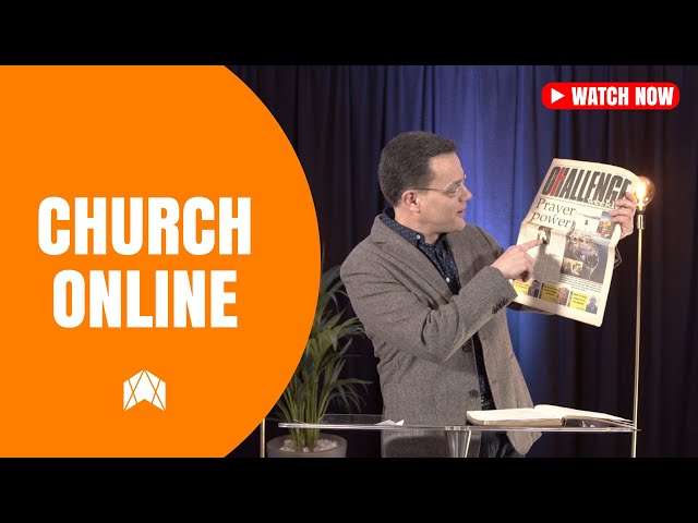 GOD IS UP TO SOMETHING - SUNDAY 13TH SEPTEMBER - CHURCH ONLINE