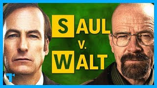Saul Goodman v. Walter White - Why They Break Bad (Better Call Saul and Breaking Bad)