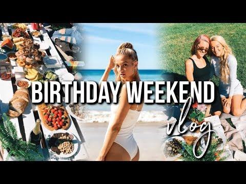 IT'S MY BIRTHDAY!   Beach Photoshoot, Picnic Party & What I Got!!
