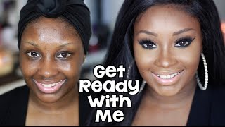 Get Ready with Me | My Signature Cat Eyeliner | Makeupd0ll
