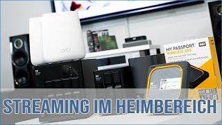 Multimedia-Streaming (Plex, Roon) im Heimkino bzw.  Wohnbereich