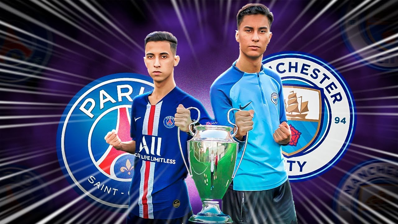 UEFA CHAMPIONS LEAGUE FINAL: PSG vs MAN CITY DESAFIO DO ...