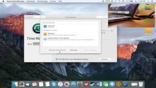 Time Machine auf Mac konfigurieren [GERMAN]