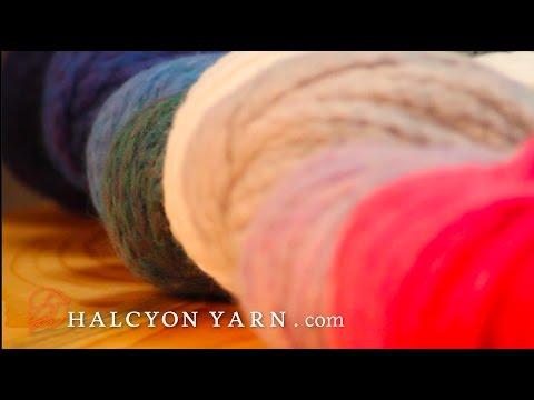Ushya yarn by Mirasol - review & introduction