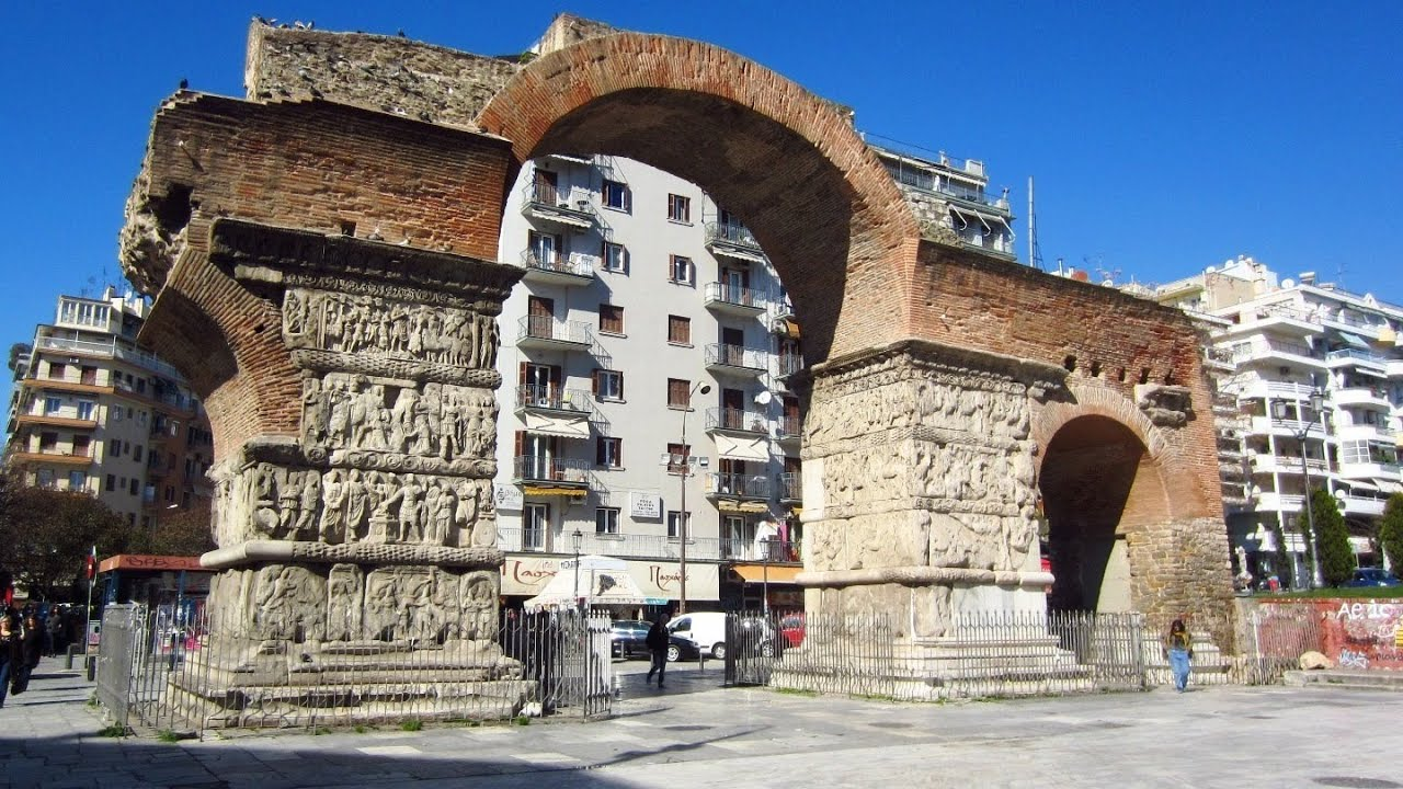 Arch of Galerius - Thessaloniki, Greece - YouTube