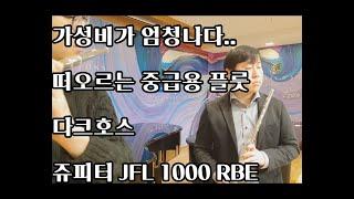 중급자용 플룻 다크호스 쥬피터 플룻 1000 RBE