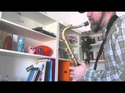 My transcription of Ed Jones saxophone solo  on  US3 ¨Tukka Yoot's Riddim¨ :)