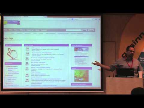 SMWCon Fall 2014, Tutorial 03, Alexander Gesinn, Introduction to Semantic MediaWiki