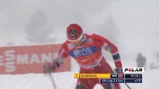 Лыжные гонки Женщины Эстафета 4х5 км. 8 декабря 2013 г. Лиллехаммер Норвегия