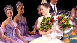 A Japanese ballerina Miyako Yoshida danced Cinderella at Royal Oper...