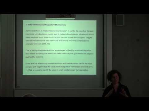 Dina Mendonça: The Role of Reflexivity and Meta-Emotions in Reasoning
