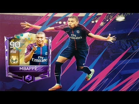 Yess!!! I Got 90 Master Mbappe ! Fifa Mobile 18 Insane Player Review !