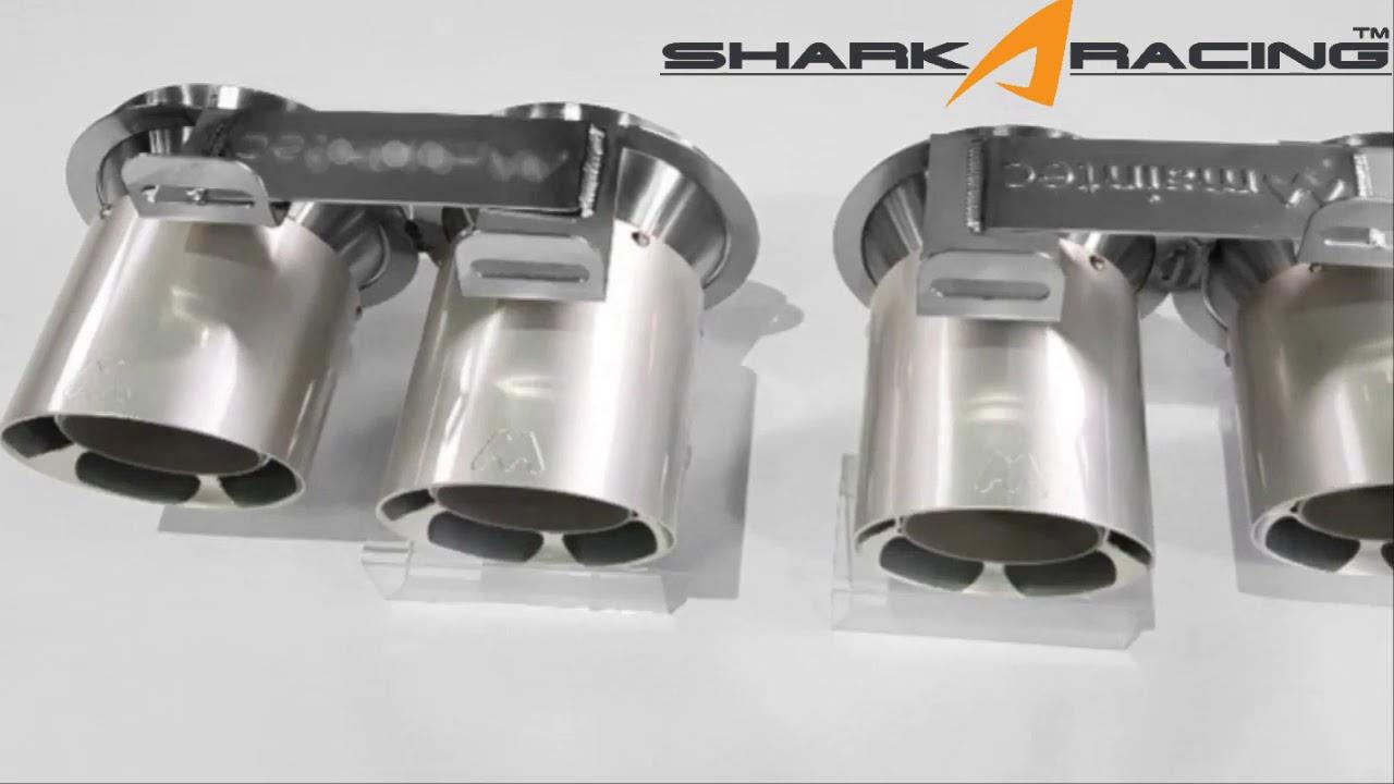 stinger billet aluminum exhaust tip set