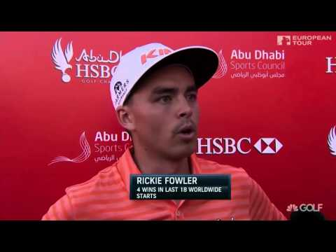 Rickie Fowler claims one shot win at 2016 Abu Dhabi Golf Championship