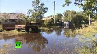 Вода в Хабаровске может не уйти до наступления зимы